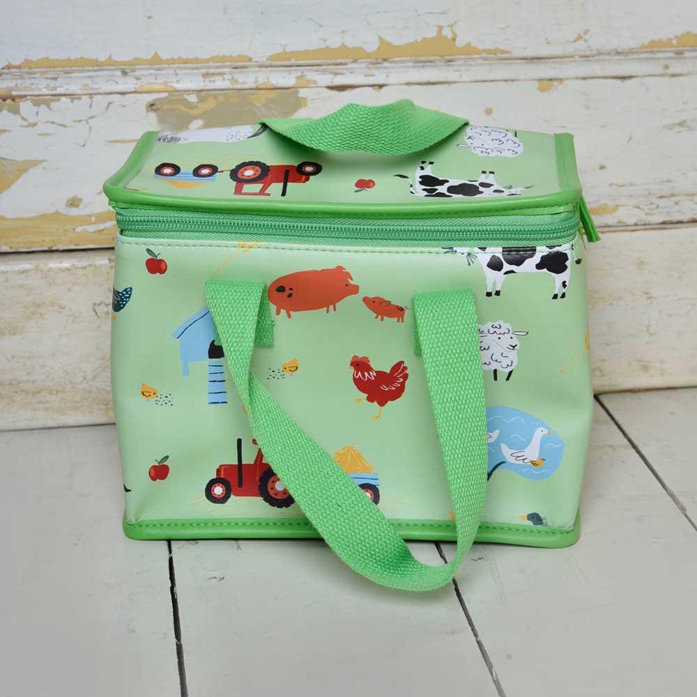 Farmyard Print Lunch Bag
