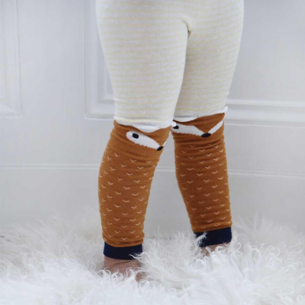 Fox Motif Leggings