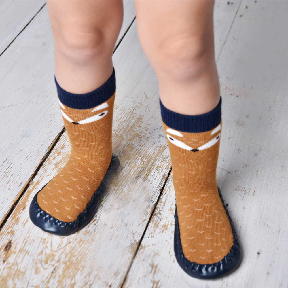 Fox Moccasin Slippers