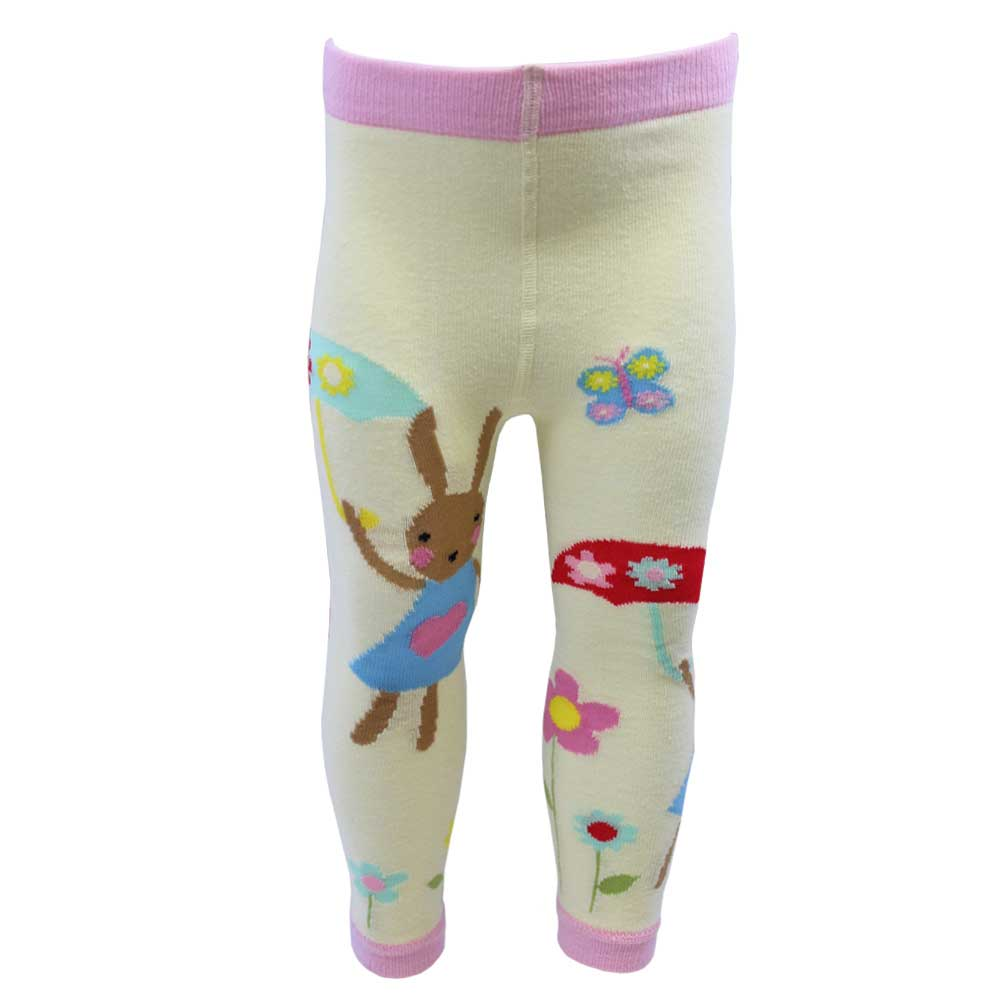 Rabbit Motif Leggings