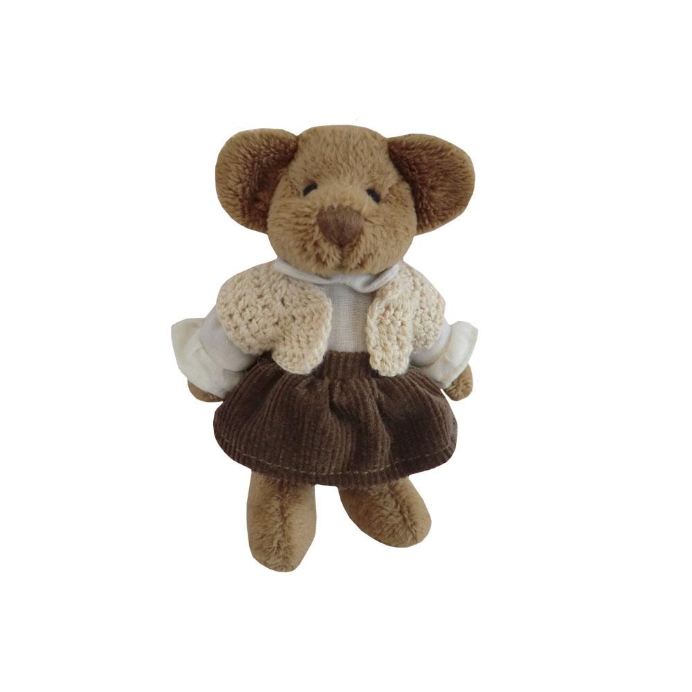 Mini Bear With Cardigan