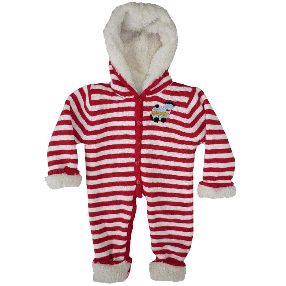 Train Fleece Lined Hooded Jumpsuit